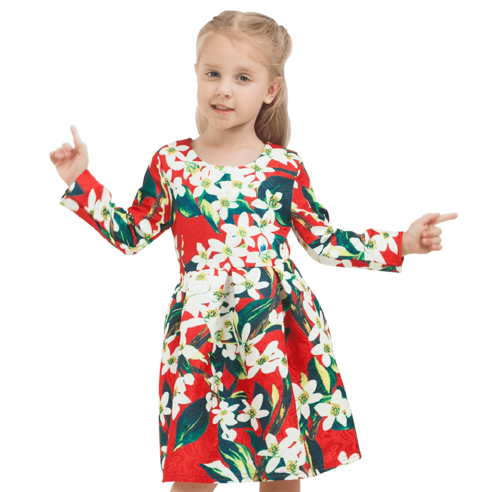 Kids multicolor dress