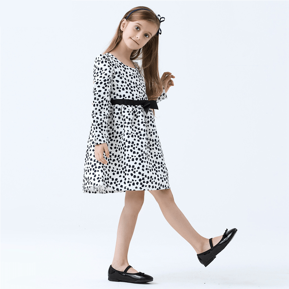 Kids black color dress